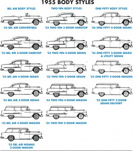 1955 Chevy Models