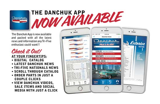 Danchuk App Now Available