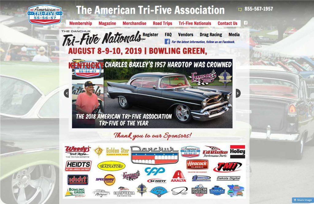 ATFA & Fifth Annual Danchuk Tri-Five Nationals Information