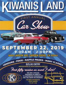 First Annual Kiwanis Land Car Show