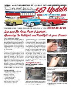 20.2 Upgrading The Taillights, Parklights & Dome Light In Your Classic