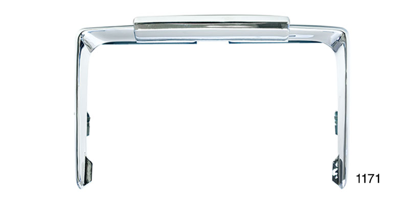 1956 Chevy Accessory License Plate Frame, Silver