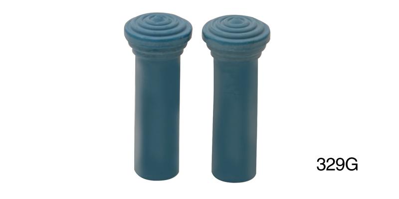 55 56 57 Chevy Door Lock Knobs *NEW* Light Blue
