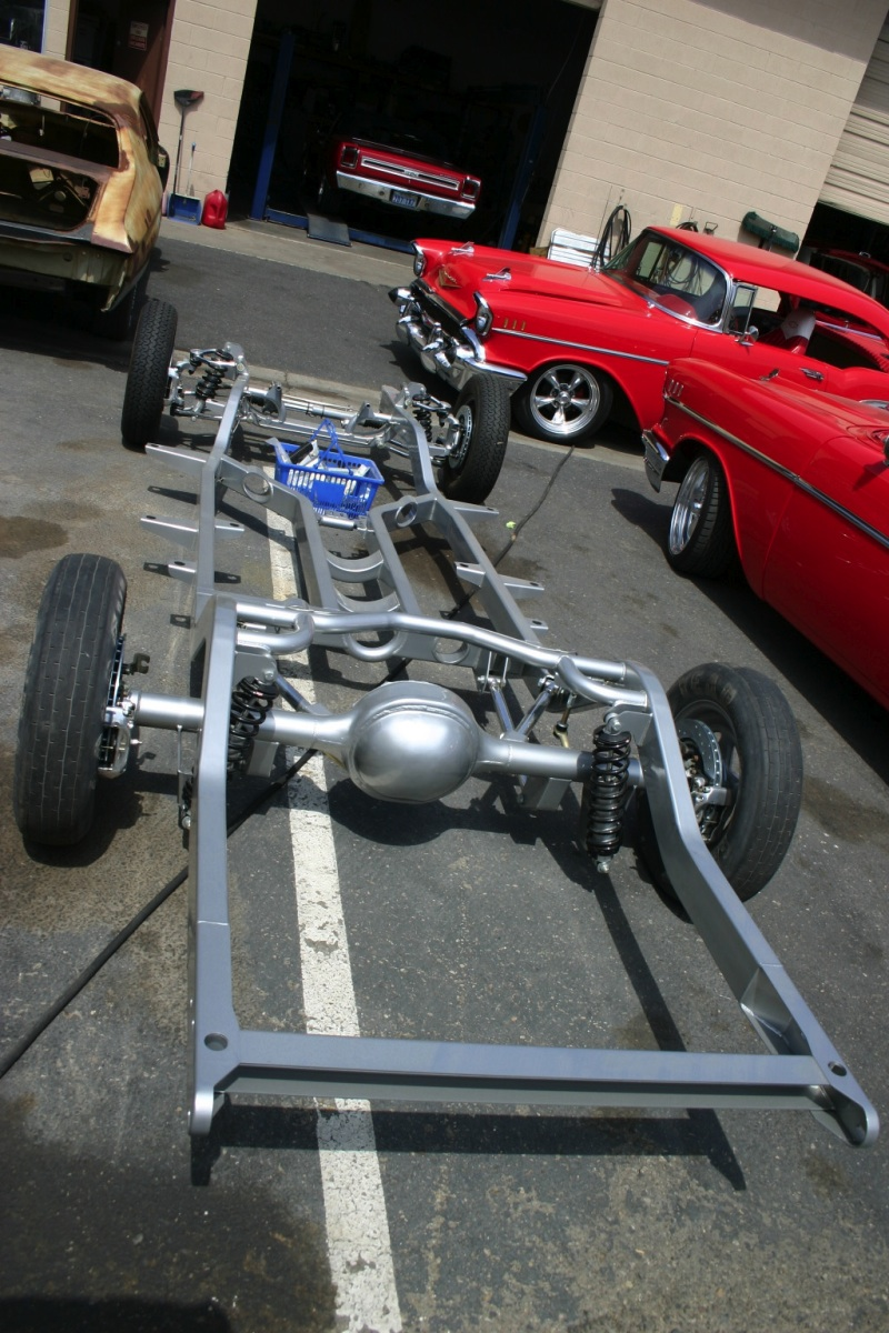 Danchuk Red 1957 Bel Air Classic Chevy Build Up Step 6 Assembly And 57 Tailgate Diagram Our Gets Its Final Colors D P Are A Concept To Completion Shop Did All The Paint On Project In House With Exception Of