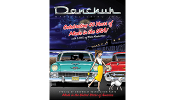 Danchuk Manufacturing 1955 1956 1957 Classic Chevy Parts