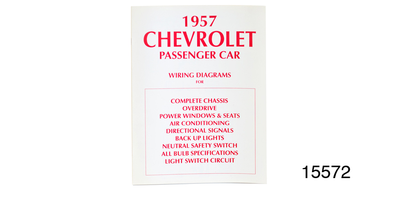 1957 chevy passenger car wiring diagram