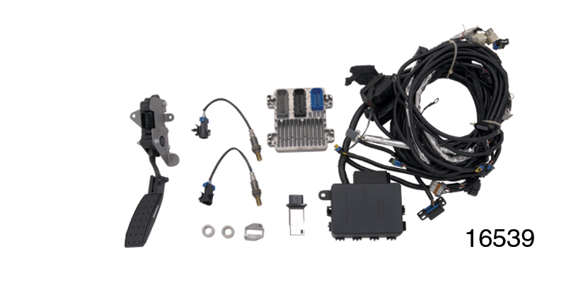 chevy ls3 wiring harness and controller kit gm 19201861