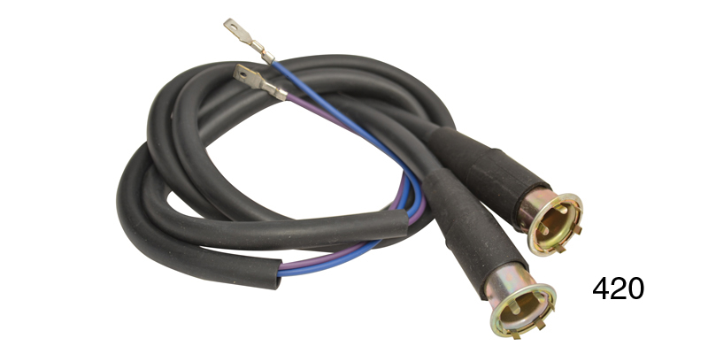 factory fit chevy parking light wiring harness pair