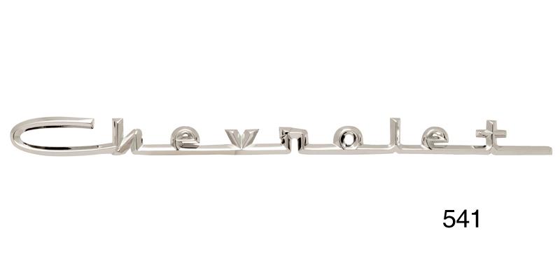 Vintage Chevrolet Script