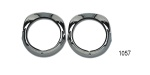 Danchuk 1956 Chevy Headlight Bezels w/ Gaskets and Hardware (Best)