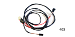 Factory Fit 1955-1956 Chevy Alternator Conversion Wiring Harness w/ Internally Regulated Alternator