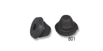 Danchuk 1955-1957 Chevy Cowl Top Outer Corner Rubber Bumpers