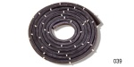 Danchuk 1955-1957 Chevy Sedan Delivery Rear Door Weatherstrip Seal