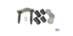 Danchuk 1956-1957 Chevy Rear Spring Shackle Kit, Driver Side