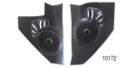 Custom Autosound 1955-1956 Chevy Kick Panel Speakers, 100 watts