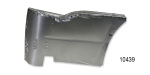 1955-1957 Chevy Metal Rear Armrest Assembly, 2-Door Hardtop, Pair