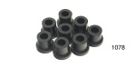 Danchuk 1955 Chevy Urethane Spring Shackle Bushing Set, Upper and Lower