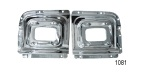 Danchuk 1956 Chevy Parklight Housing Backing Plates (Best)
