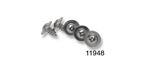 Danchuk 1955-1956 Chevy Cowl Vent Screw Set