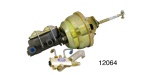 1955-1957 Chevy Power Brake Conversion Kit, Disc/Drum, 8'' Dual Diaphragm w/ Proportioning Valve