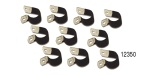 American Autowire 10-piece Rubberized Clamp Kit