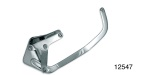 Bills Hot Rod Chevy Alternator Bracket, Chrome, SB V8 w/ Late Style Heads, Short Water Pump