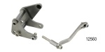 Bill's Hot Rod Chevy Saginaw Power Steering Pump Bracket, Bare, BB V8 w/ Short Water Pump