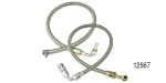 Chevy Braided Stainless Steel Power Steering Hose Kit, 605/500 Box