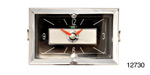 Danchuk 1957 Chevy Quartz Clock, Black