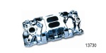 Professional Products Chevy Cyclone Plus Intake Manifold, Polished, 1957-1995 Small Block V8