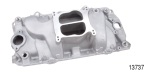 Professional Products Chevy Cyclone Intake Manifold, Satin, 1965-1990 Big Block V8, w/ Oval Ports