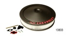 Pro Form Chevy 14'' Air Cleaner, Black Crinkle w/ Bowtie Wing Nut