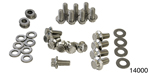 ARP Chevy Stainless Oil Pan Bolts, 12-Point Head, Small Block