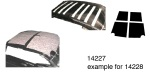 1955-1957 Chevy Acoustishield Roof Insulation Kit, Wagon