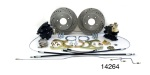 1955-1957 Chevy Rear Disc Brake Conversion Kit w/ Performance Upgrades