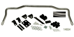 Hellwig 1955-1957 Chevy Front Sway Bar with Silver Vein Finish, 1-1/4'' Diameter