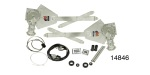 1955-1957 Chevy Power Window Conversion Kit, 2-Windows, 2-Door Hardtop & Nomad
