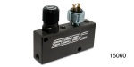 Chevy Prop-Block Adjustable Proportioning Valve and Distribution Block Kit, Black