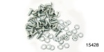 1955-1957 Chevy Inner Liftgate Window Frame Screw Set, Nomad, 56-Peices