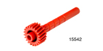1955-1956 Chevy Speedometer Gear, Red w/ 21 Teeth, Powerglide