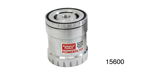 Professional Products Chevy Powerfilter Oil Filter, 1986 & Earlier w/Spin-on  Filter