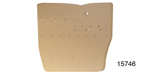 1956-1957 Chevy Rear Door Panel Cardboard, 1956-1957 210, 1957 Bel Air 4-Door Sedan, Pair