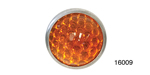 Danchuk Chevy 15/16'' Reflector, Smooth, Amber, Pair
