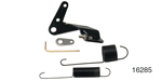 Lokar Chevy Midnight Series Throttle Cable and Return Spring Kit