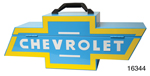Chevy Portable Tool Box w/ Blue/Yellow Bow Tie Logo