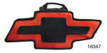 Canvas Bag, Black and Red w/Chevrolet Bow Tie Logo
