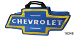 Canvas Bag, Blue and Yellow w/Chevrolet Bow Tie Logo