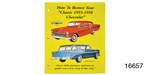 How to Restore Your Classic 1955-1956 Chevrolet, Book
