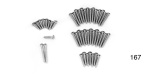 1956-1957 Chevy Interior Trim Screw Set, 4-Door Hardtop