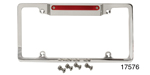 Billet Specialties Chevy License Plate Frame w/ Light and Third Brake Light